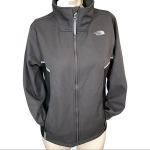 The North Face athletic zip up jacket